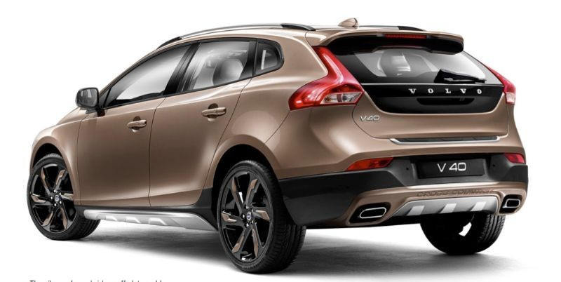 volvo v40 cross country overview price gst rates offers images reviews indianbluebook. Black Bedroom Furniture Sets. Home Design Ideas